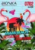 Вечеринка «Путишествие Алкостопом. Miami Beach» в клубе «Bionica»
