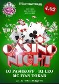 Вечеринка «Casino night» в клубе «Forsage»