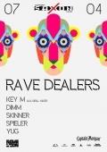 Вечеринка «Rave Dealers» в клубе «Saxon»
