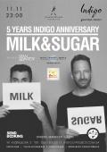 День рождения Indigo! Проект Milk & Sugar