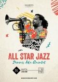 Концерт «Dennis Adu Quintet» в клубе «Bel 'etage»