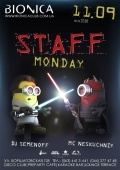 Staff monday в «Bionica»