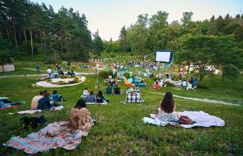 Бесплатные кинопоказы в киевских парках
