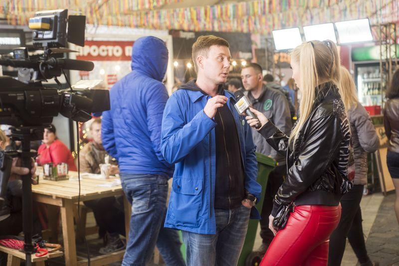 «Фестиваль уличной еды» на арт-заводе «Платформа»