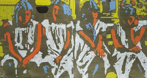 Виставка Миколи Білоуса «Аполоніда» в галереї Цех