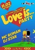 «Love is...party» в клубе «Saxon»