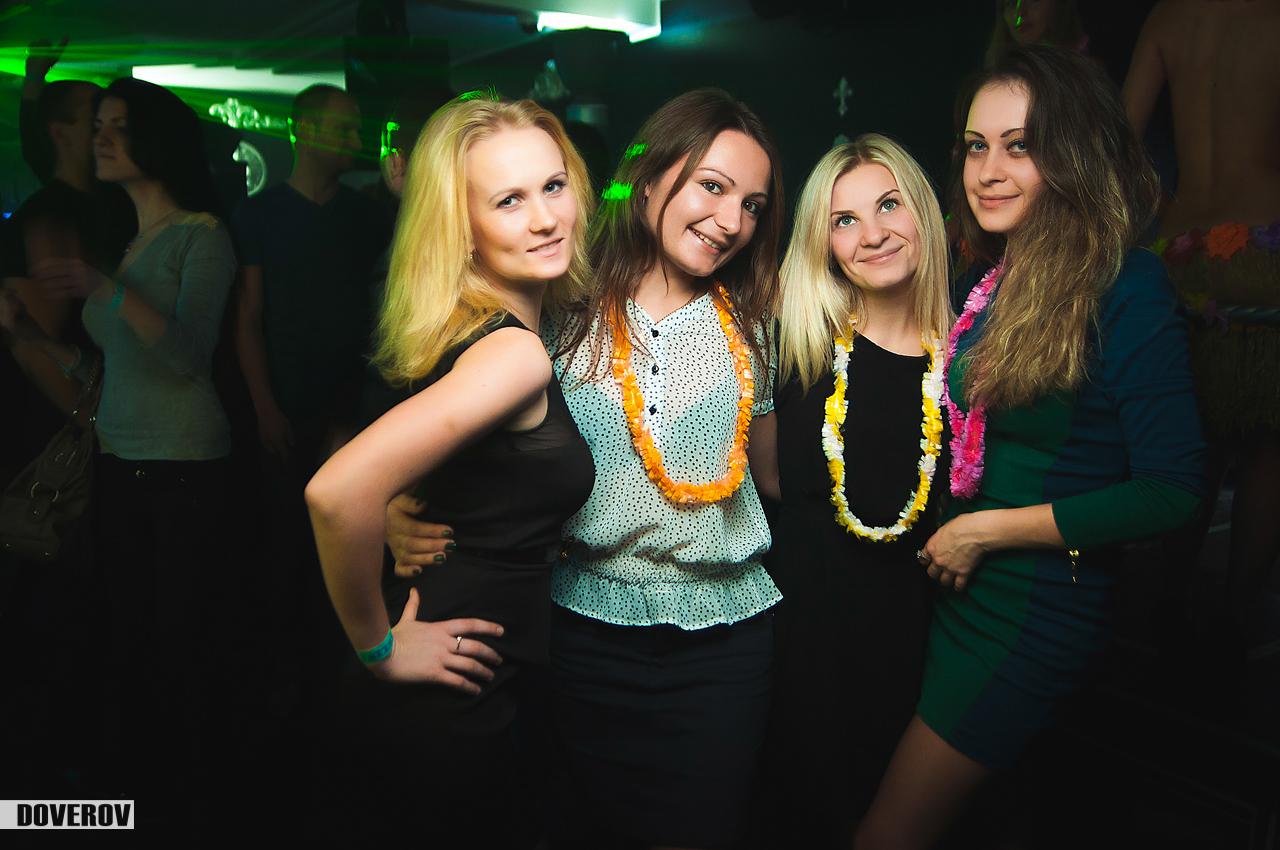 Гавайская вечеринка в Franklin club