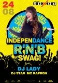 «Independance R'n'B swag!» в «Saxon»