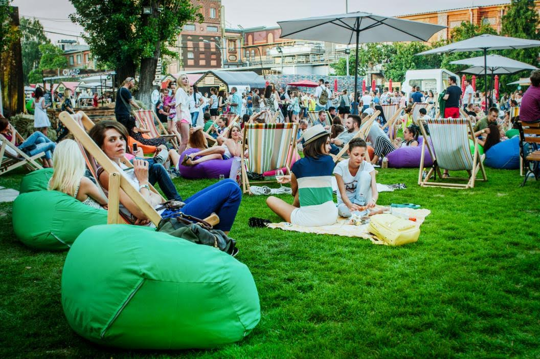 Фестиваль уличной еды. Открытие сезона