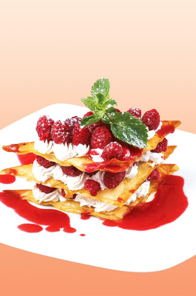 Ягодное меню в Confetti! Для влюбленных в ягоды!