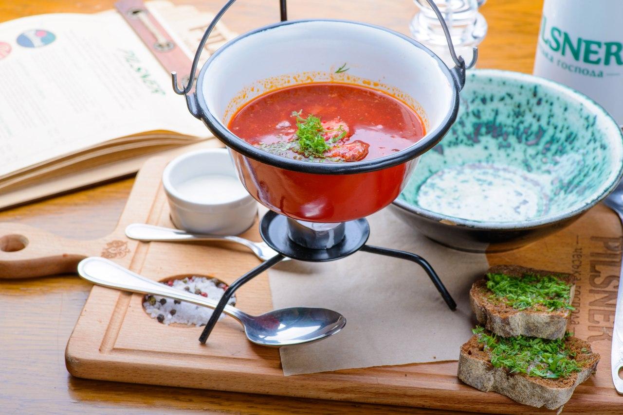 как приготовить чесночный соус как в пилзнер