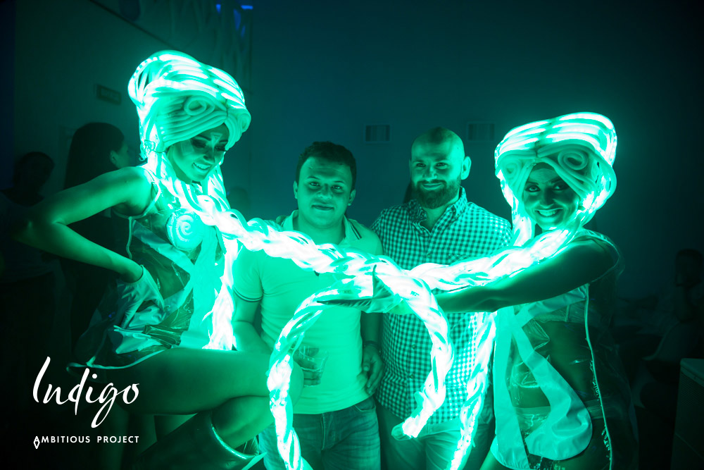 «Music Therapy» в клубе «Indigo»