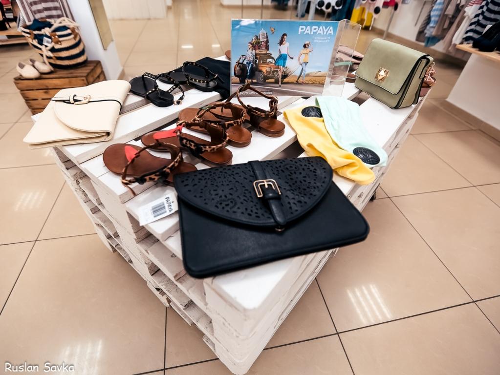 «Новая летняя коллекция» в магазине одежды «Papaya»