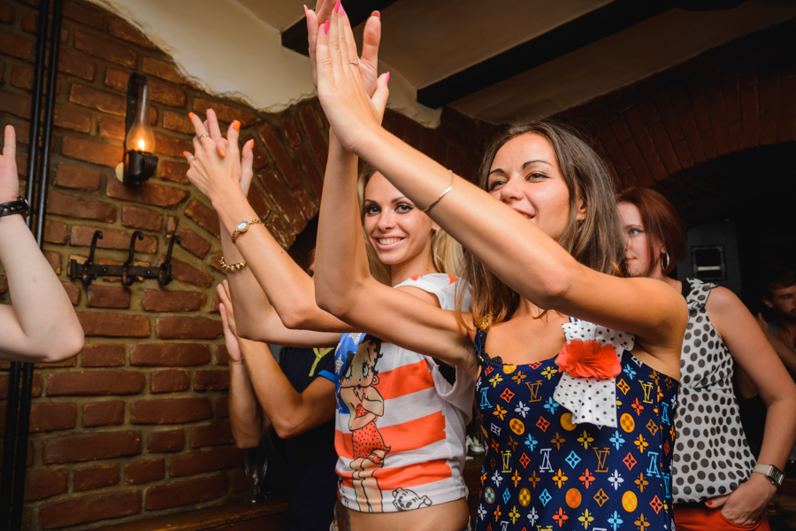 «Home Party» for friends в Репортере