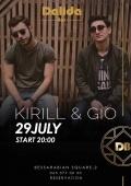 Sulyga Kirill & Gio Darakhvelidze в «Dalida Bar»