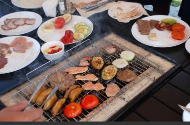 Семейное барбекю на Острове