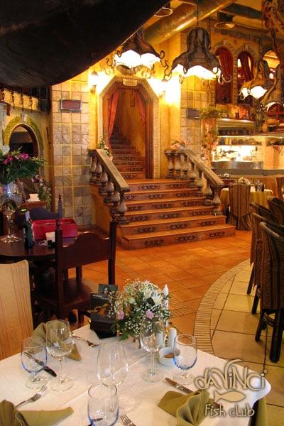Ресторан «Da vinci fish club»