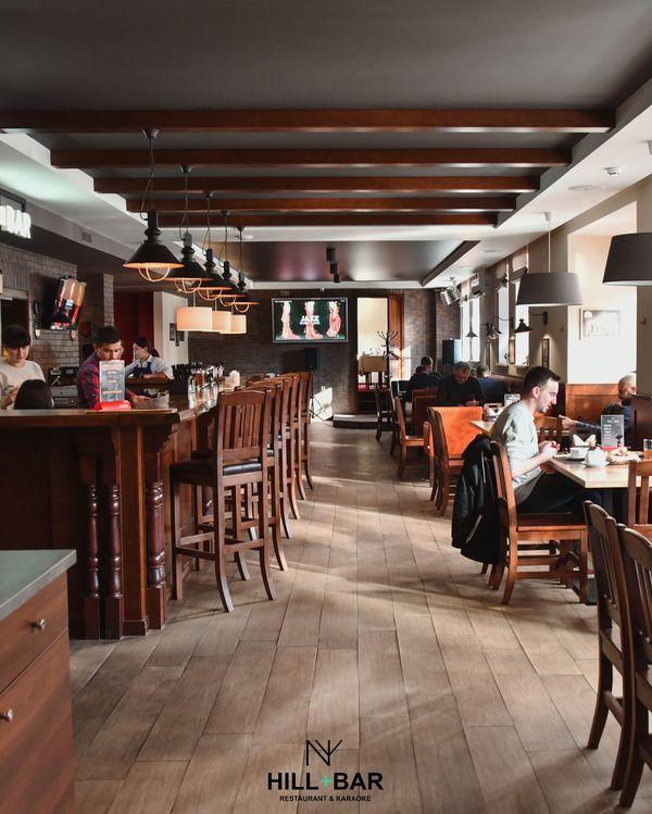 Restaurant karaoke club «Hill bar»