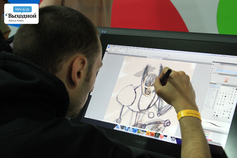 «Make It Show» на арт-заводе «Платформа»