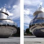 Свето-музыкальный фонтан со скульптурной композицией «Груша»