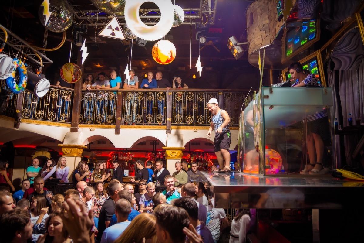 «Electro Пена» в клубе «Saxon»